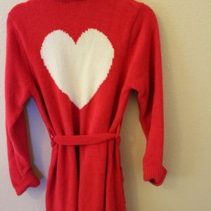 Betsey Johnson Sweater Robe. Super Soft. Size S